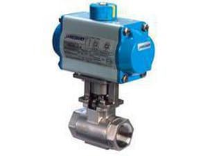 Jamesbury 3-11/20 in. 1200 psi 2-Piece CS|Stainless Steel Threaded Standard Port Ball Valve with Xtreme Seat J9FB2236XTG