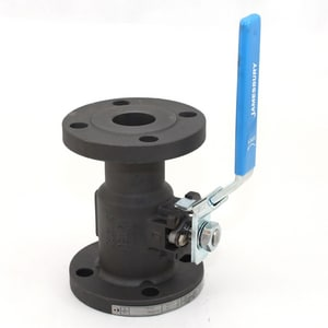 2 in. 150 psi Carbon Steel Flanged Standard Port Ball Valve with Xtreme PTFE Seat J7150312236XTZK