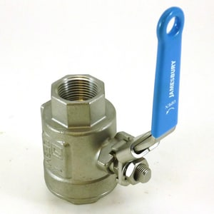 1000 psi 2-Piece Stainless Steel Threaded Full Port Ball Valve J6F3600MT