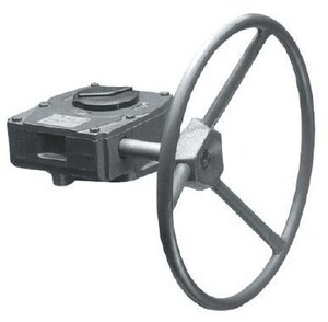 5-57/100 in. 176 Degree F Gear Operator with 12 in. Hand Wheel JM10Q