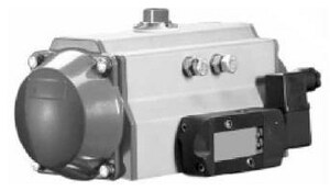 Jamesbury Valv-Powr® 9-37/50 x 4-53/100 in. Double Acting Actuator JVPVL250DABD