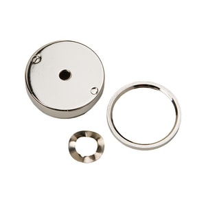 Haws Push Button Assembly in Polished Chrome HPBA7