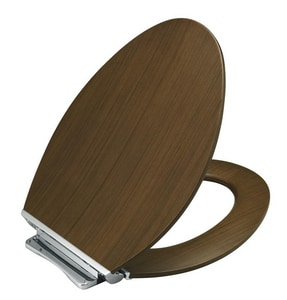 Kohler Wood Elongated Closed Front Toilet Seat K4761-CP