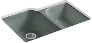 Kohler Executive Chef™ 4-Hole 2-Bowl Kitchen Sink K5931-4U