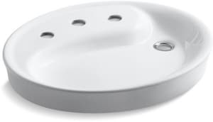 Kohler Yin-Yang® 3-Hole Vessel Bathroom Sink K2354-8