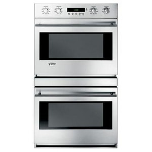 General Electric Appliances Monogram® 30 in. Built-In Electric Convection Double Wall Oven in Stainless Steel GZET2SMSS