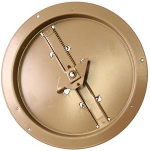 PROSELECT® Round Brown Steel Ceiling Damper PSRDR