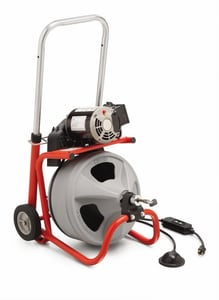 Ridgid K400 3/8 in. x 75 ft. Drain Cleaning Machine W/C32 IW R24853