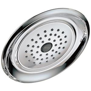 Delta Faucet Classic 2.5 gpm 1-Setting Raincan Showerhead DRP48686