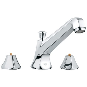Grohe Somerset™ 3-Hole Bath Combination with Double Lever Handle G25076