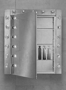 Robern PL Series 15-1/4 x 30 in. Cabinet Mirror Door RPLM1630B
