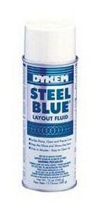 ITW Dykem 16 oz. Steel BLUE Aeros Layout Flood I80000