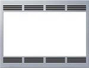 Bosch Built-In Trim Kit for Traditional Microwave in Stainless Steel BHMT5750