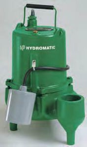 Hydromatic Pump 1/2 hp Automatic Sewage Pump HSKV50AW110
