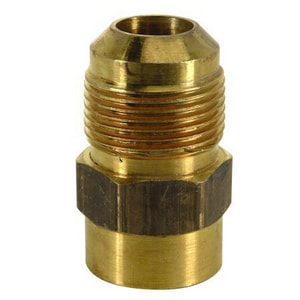 Brass Craft 5/8 x 1/2 in. FIP Steel Flare Union BMAU1108S