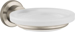 Axor Citterio Wall Mount Frosted Glass Soap Dish AX41733