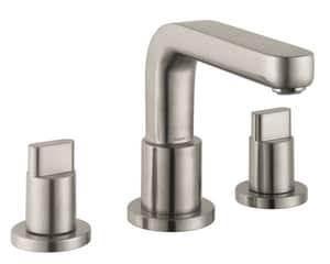 Hansgrohe Metris S 5.8 gpm 3-Hole Roman Tub Set Trim with Double Full Handle H31436