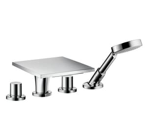 AXOR Massaud 4-Hole Tub Set in Polished Chrome AX18440001