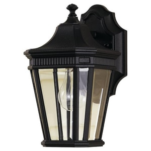 Murray Feiss Industries Cotswold Lane 6-1/2 in. 100W 1-Light Medium E-26 Incandescent Wall Lantern MOL5400