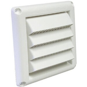Deflecto 5 Fixed Louvered Hood With Pipe DSVMAW5