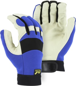 Majestic Glove Pig Skin Palm & Neoprene Mechanical Glove M2152T01