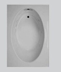 Georgia Bathware 60 x 42 in. Fiberglass Reinforced Plastic Tub G96042