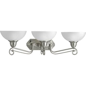 Progress Lighting Pavillion 8-7/8 in. 100 W 3-Light Medium Bath Bracket PP3294