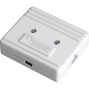 Progress Lighting Hide-a-Lite III 3-1/4 in. Junction Box in White PP874030