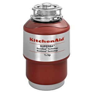 Kitchenaid Superba® 3/4 hp Disposal Container Feed Soundseal KKCDS075T