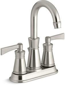 Kohler Archer? Centerset Lavatory Faucet with Lever Handles Vibrant ...
