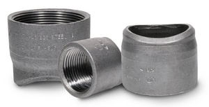 Anvil 1 in. 300# Import Steel Threadolet A0870001096