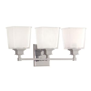 Hudson Valley Lighting Berwick 100W 3-Light Medium E-26 Base Bath Bracket HUD1953