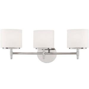 Hudson Valley Lighting 75W 3-Light G9 Double Loop Base Xenon Bath Bracket HUD8903