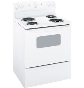 General Electric Appliances 30 x 26-1/4 in. Electric Free Standing Range GJBS07M