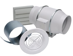 S&P USA Ventilation Standard Exhaust Fan Kit SKITTD150