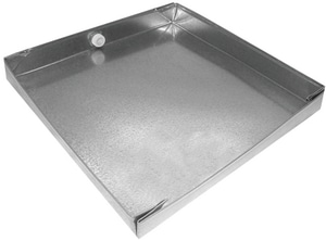 Royal Metal Products 28 in. 24 GA Drain Pan SHMDP2428