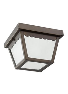 Seagull Lighting 60 W 1-Light Close To Ceiling Mount S75467
