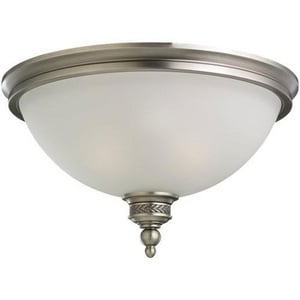Seagull Lighting 60W 2-Light 120V Flushmount Ceiling Fixture S75350