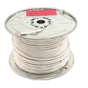 Diversitech 250 ft. 1 ga Plenum Thermostat Wire in White DIV620188P