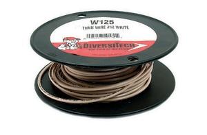 Diversitech THHN Black Wire Strand 8GA 10ft. DIVW801