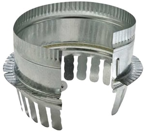 Royal Metal Products Snap Tab Ductboard Collar with Gasket SHMCSTDBG