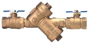 Wilkins Regulator Bronze FNPT Double Check Backflow Preventer W950XL