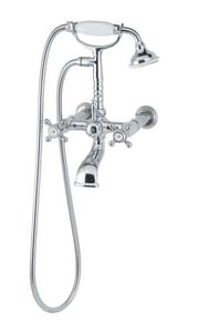 Jacuzzi Era™ Roman Tub Faucet with Double Lever Handle and Hand Shower JEV198