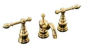 Kohler iV Georges Brass® Widespread Lavatory Faucet with Lever Handle K6811-4