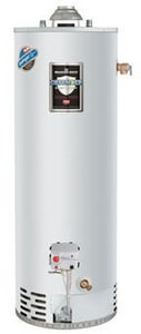 Bradford White Defender Safety System® 50 gal. 50,000 BTU Natural Gas Water Heater with Aluminum Anodized BMI504S6FBN264