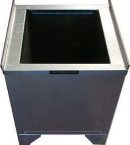 Metal Shop 21 x 46 x 20 in. Insulated Cube Stand with Hole SHMICSH214620