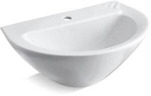 Kohler Parigi® 1-Hole Pedestal Bathroom Sink K2176-1