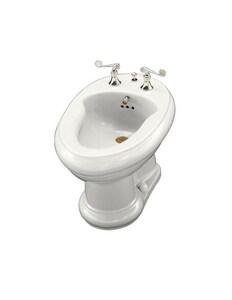 Kohler Revival® 16 x 24-3/8 in. Floor Mount Horizontal Bidet (Less Faucet Handles) K4830