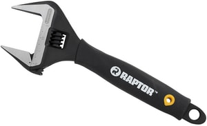 RAPTORR Pro 8 In Superwide Adjustable Wrench RAP18006 At Pollardwater