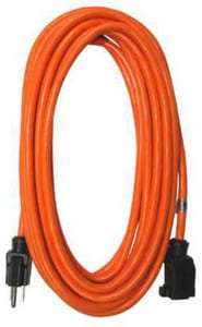 RAPTOR® 16/3 Sjtw Extension Cord Oil Rubbed Orange RAP3160